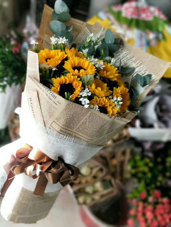 【阳光心情】-10朵向日葵经典